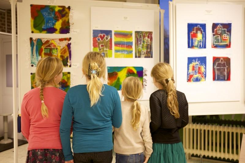 Opening tentoonstelling 'Mijn Wereld' Giessenlanden